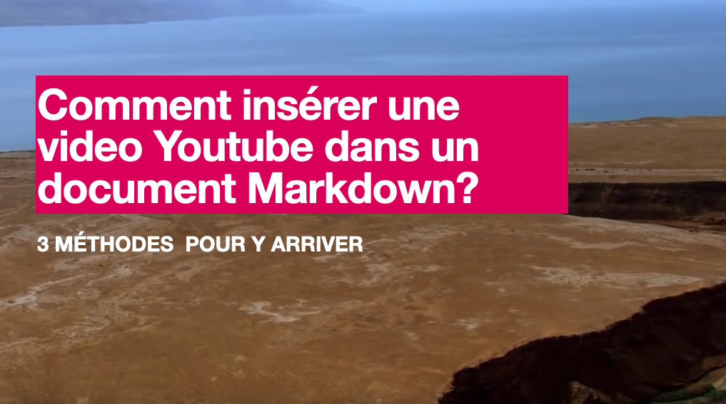 outube Video markdown